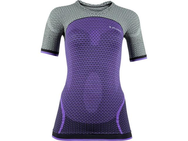 UYN Running Alpha OW Camisa Manga Corta Mujer, violeta